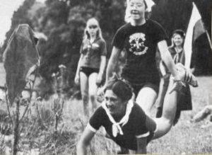Épreuve des olympiades camp 1980
